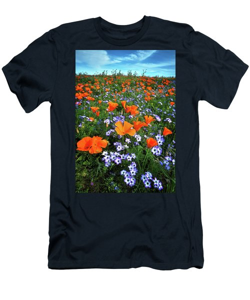 High Desert Wildflowers Men's T-Shirt (Athletic Fit)