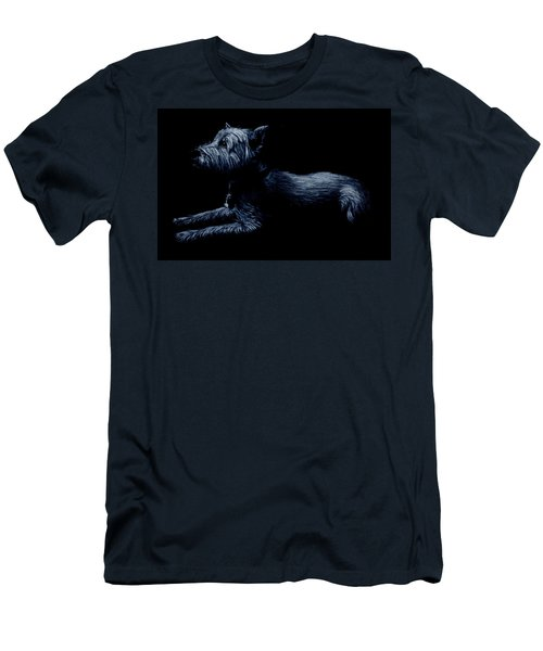Highland Terrier Men's T-Shirt (Athletic Fit)