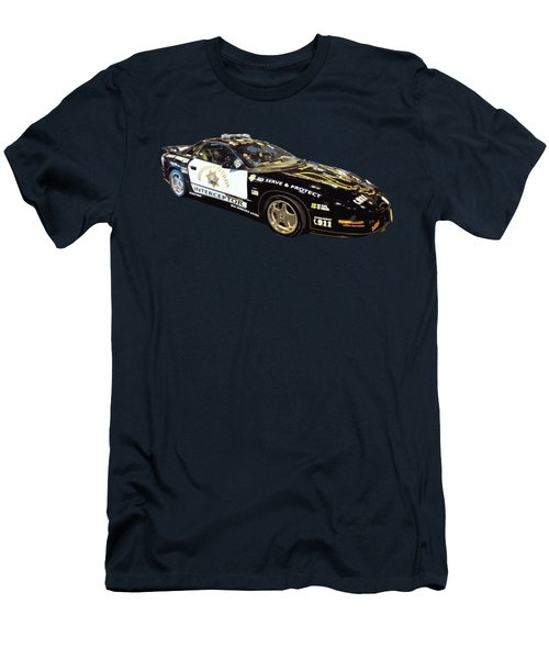 Highway Interceptor Art Men's T-Shirt (Athletic Fit)