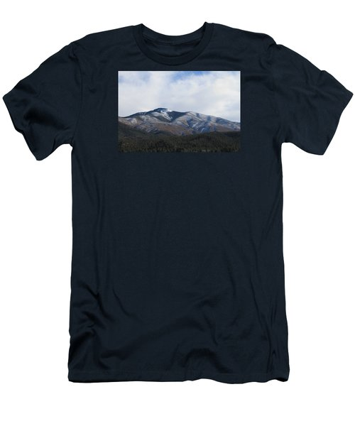 Hills Of Taos Men's T-Shirt (Slim Fit) by Christopher Kirby