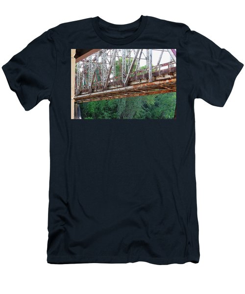 Historic Brazoria Bridge Men's T-Shirt (Athletic Fit)