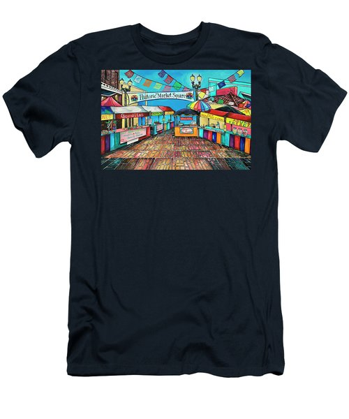 Historic Market Square Men's T-Shirt (Athletic Fit)