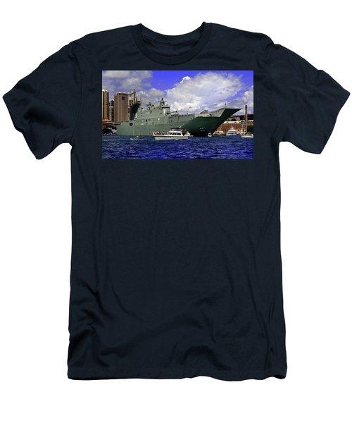 Hmas Adelaide IIi Men's T-Shirt (Athletic Fit)