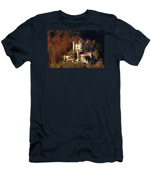 Hohenschwangau Castle 5 Men's T-Shirt (Slim Fit) by Rudi Prott