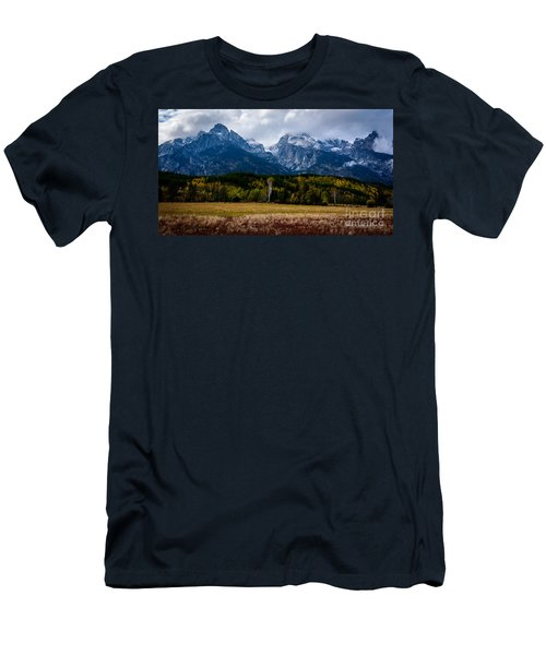 Men's T-Shirt (Slim Fit) featuring the photograph Home Sweet Home by Sandy Molinaro