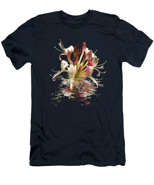 Honeysuckle Reflections Vertical Men's T-Shirt (Athletic Fit)