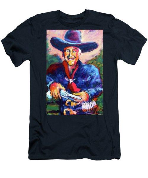 Hoppy's Got A Gun Men's T-Shirt (Athletic Fit)