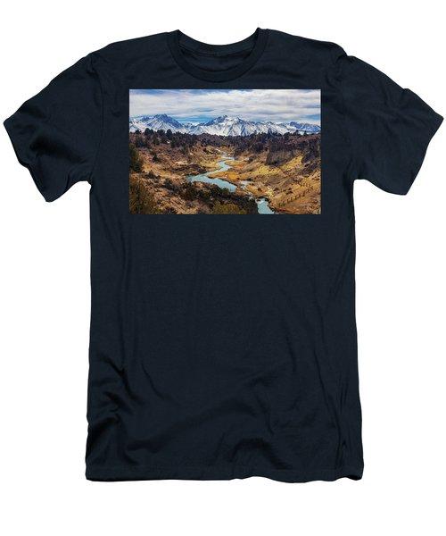 Hot Creek Men's T-Shirt (Athletic Fit)