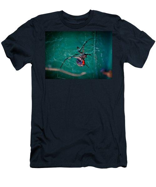 Hour Glass Of Death Men's T-Shirt (Athletic Fit)