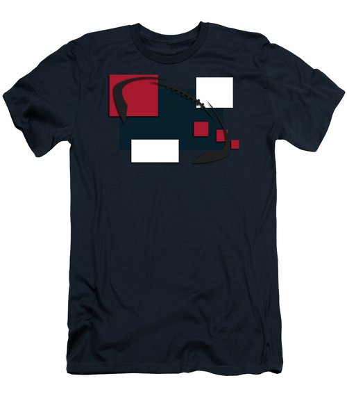 Houston Texans Abstract Shirt Men's T-Shirt (Athletic Fit)