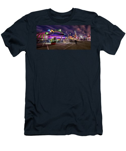 Houston Texas Live Stock Show And Rodeo #2 Men's T-Shirt (Slim Fit) by Micah Goff