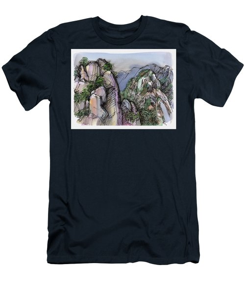 Huangshan, China Men's T-Shirt (Athletic Fit)