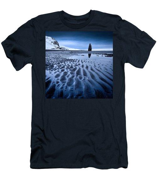 Hvitserkur, Iceland Men's T-Shirt (Athletic Fit)