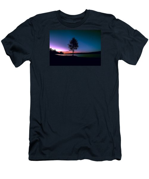 Men's T-Shirt (Slim Fit) featuring the photograph I Am For You by Rose-Maries Pictures