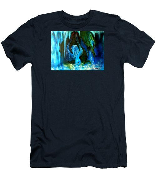 Dance Of The Winged Being Men's T-Shirt (Athletic Fit)