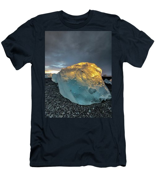 Ice Fish Men's T-Shirt (Slim Fit) by Allen Biedrzycki