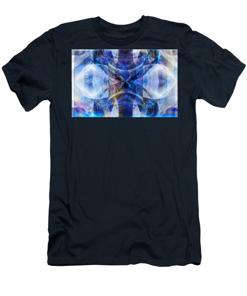 Ice Structure Men's T-Shirt (Athletic Fit)