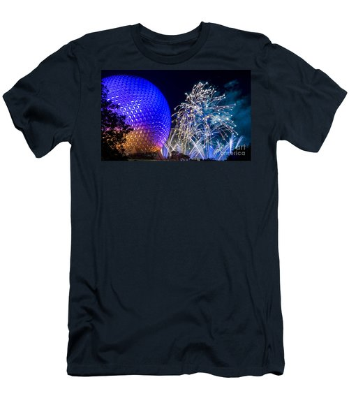 Illuminations Reflections Of Earth Men's T-Shirt (Athletic Fit)