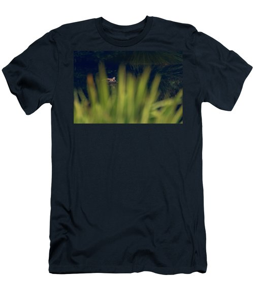 Men's T-Shirt (Athletic Fit) featuring the photograph I'm Looking Through You by Gene Garnace