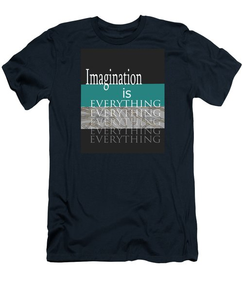 Imagination Men's T-Shirt (Slim Fit) by Ann Powell