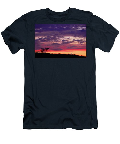 Imagine Me And You Men's T-Shirt (Athletic Fit)