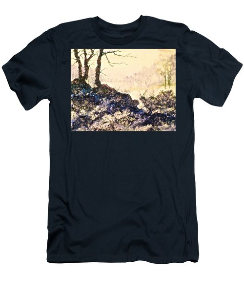 In The Distance Men's T-Shirt (Slim Fit) by Carolyn Rosenberger