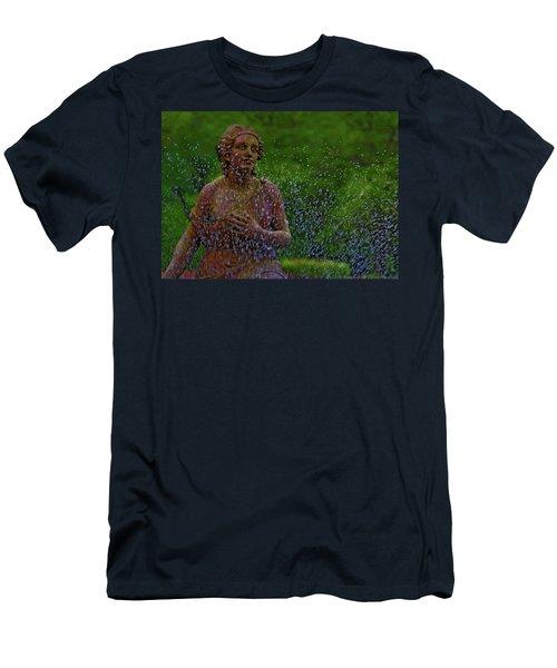 In The Garden Men's T-Shirt (Slim Fit) by Rowana Ray