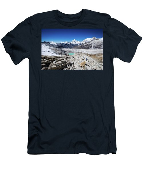 In The Middle Of The Cordillera Blanca Men's T-Shirt (Athletic Fit)