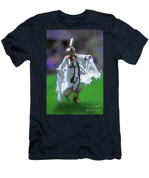 Indian Dancer Men's T-Shirt (Athletic Fit)