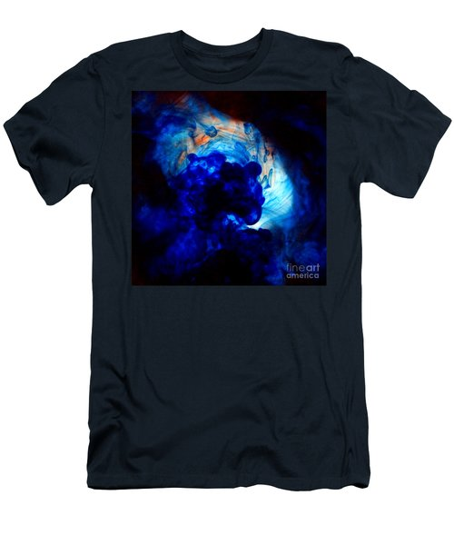 Ink Swirls 002 Men's T-Shirt (Athletic Fit)
