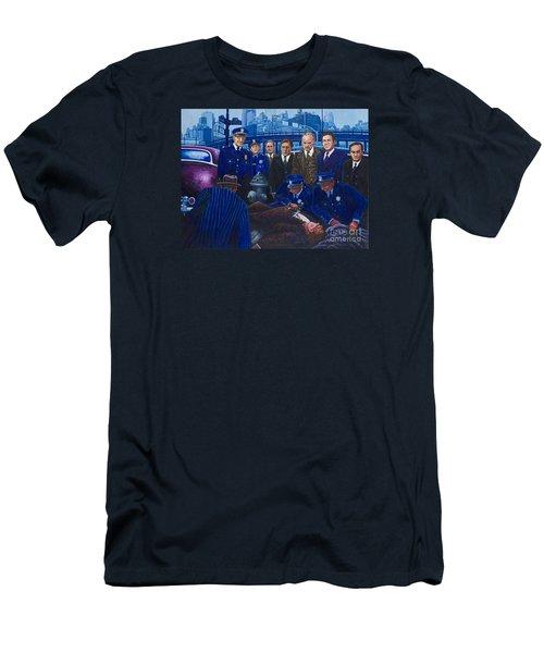 Innocent Bystanders Men's T-Shirt (Slim Fit) by Michael Frank