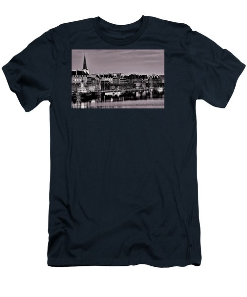 Men's T-Shirt (Athletic Fit) featuring the photograph Intra Muros At Night by Elf Evans