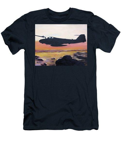 Intruder Refueling Men's T-Shirt (Athletic Fit)