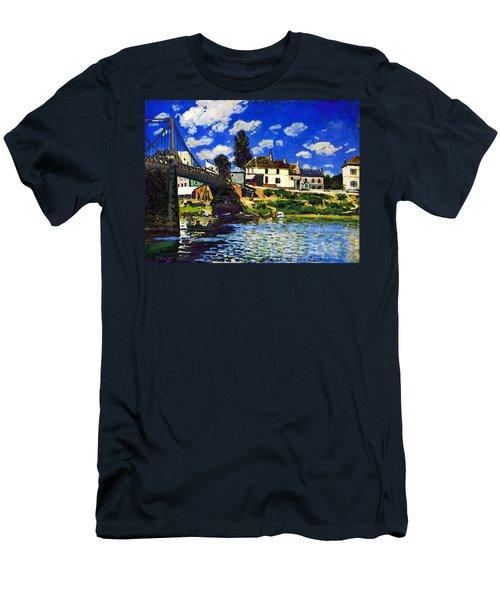 Inv Blend 14 Sisley Men's T-Shirt (Slim Fit) by David Bridburg