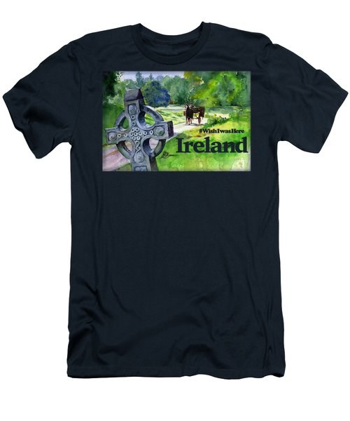 Ireland Shirt Men's T-Shirt (Athletic Fit)