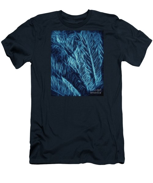 Iridescent Fern In Oil Men's T-Shirt (Athletic Fit)