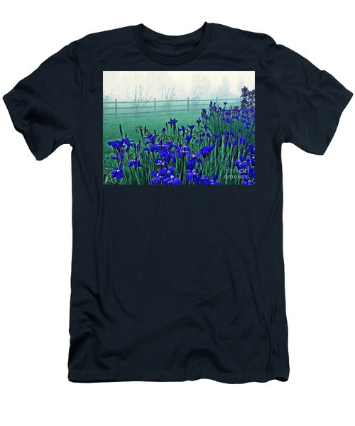 Irises At Dawn 3 Men's T-Shirt (Athletic Fit)