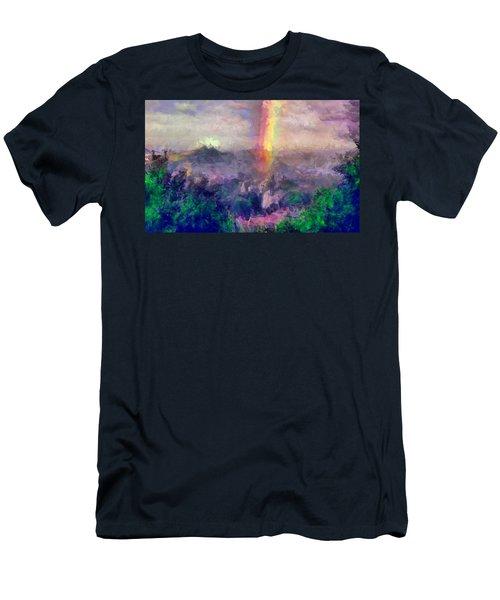 Irish Rainbow Men's T-Shirt (Athletic Fit)