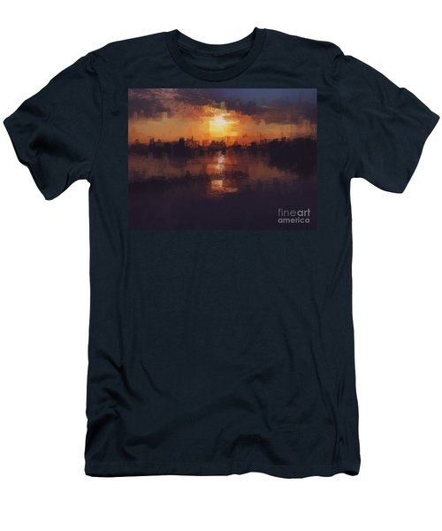 Island In The City Men's T-Shirt (Athletic Fit)