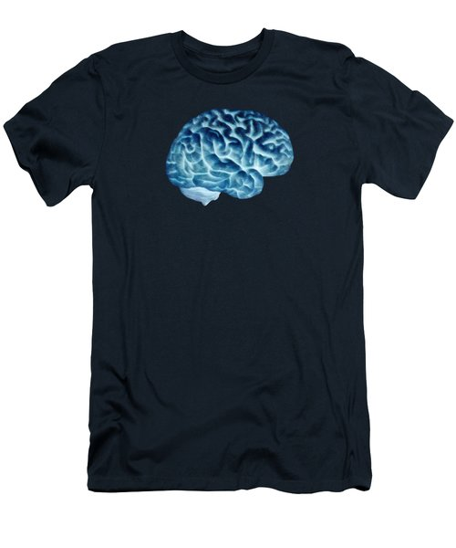 Isolated Brain Men's T-Shirt (Athletic Fit)