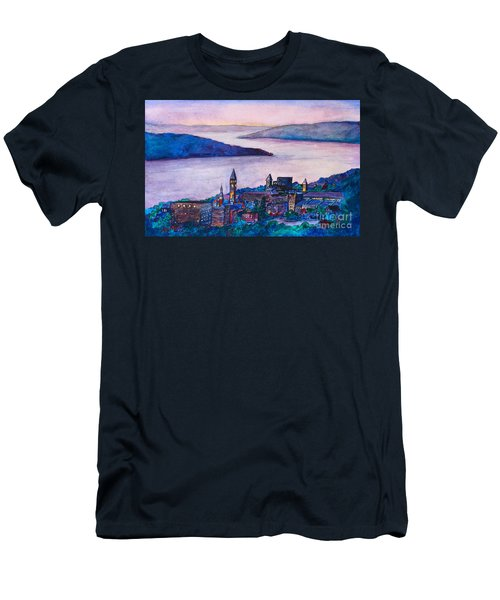 Ithaca Ny Men's T-Shirt (Athletic Fit)