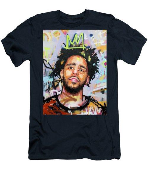J Cole Men's T-Shirt (Slim Fit) by Richard Day