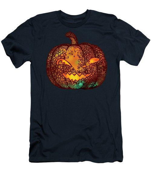 Jack O Lantern Men's T-Shirt (Athletic Fit)