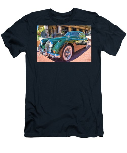 Men's T-Shirt (Slim Fit) featuring the photograph Jaguar Xk Classic by Dan McManus