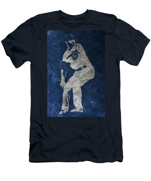 Jake Arrieta Chicago Cubs Art Men's T-Shirt (Athletic Fit)