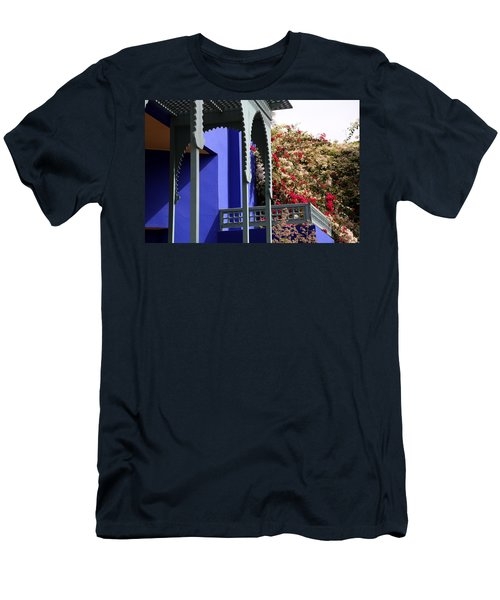 Men's T-Shirt (Slim Fit) featuring the photograph Jardin Majorelle 3 by Andrew Fare