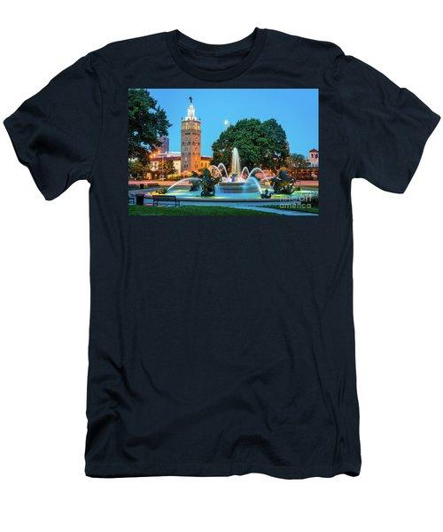 J.c. Nichols Memorial Fountain Men's T-Shirt (Athletic Fit)