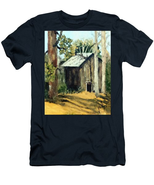 Jd's Backker Barn Men's T-Shirt (Slim Fit) by Jim Phillips