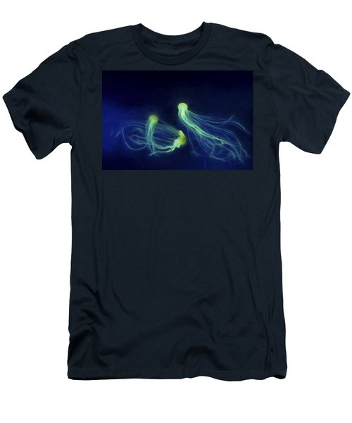 Men's T-Shirt (Slim Fit) featuring the photograph Jellyfish Tango by Steven Richardson