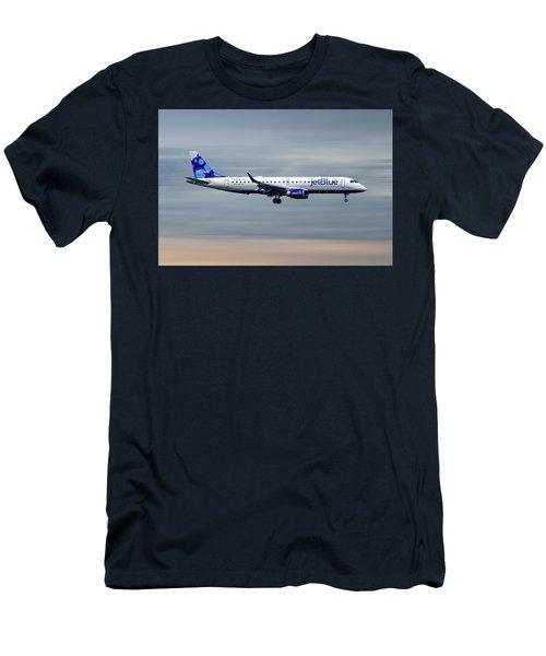 Jetblue Airways Embraer Erj-190ar Men's T-Shirt (Athletic Fit)